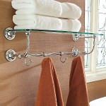 Glass Shelf Train Rack